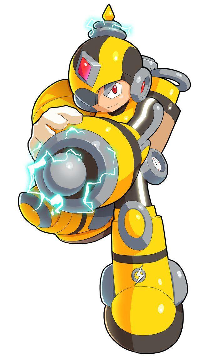 Commission: Battery Man by ultimatemaverickx on DeviantArt.