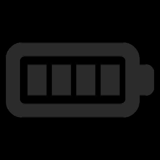 Full battery stroke icon.