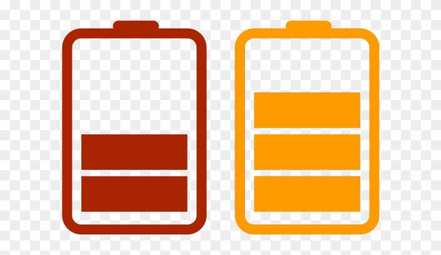 Battery Charging Clipart Logo.
