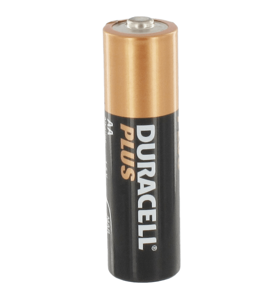 Duracell Plus Battery transparent PNG.