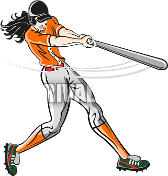 Batting 20clipart.