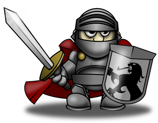 Cartoon knight clip art free.