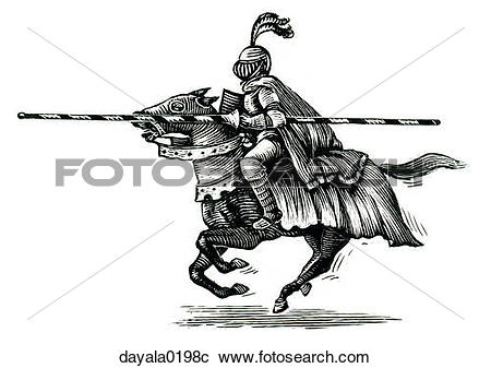 Stock Photography of knight, horse, joust, competition, challenge.