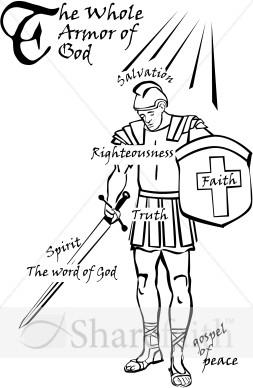 Christian Armor Clipart.
