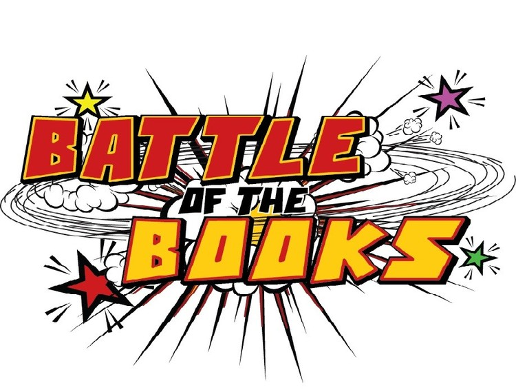 Battle Of The Books Clipart.