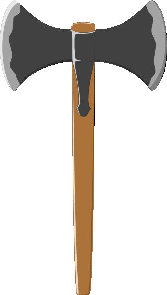 Battle axe clipart.