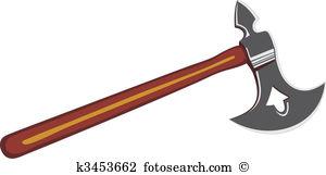 Battle axe Clipart EPS Images. 1,260 battle axe clip art vector.