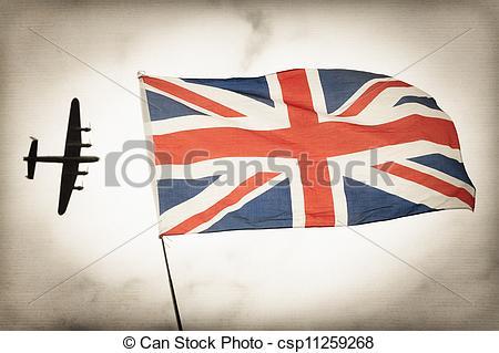 Stock Illustration of Battle of Britain.