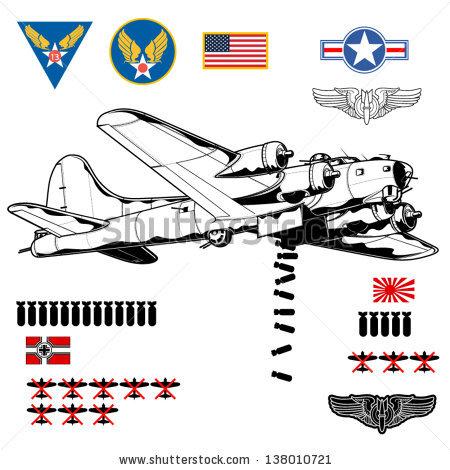 WWII Boeing B.