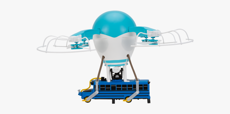 Fortnite Battle Bus Drone , Free Transparent Clipart.