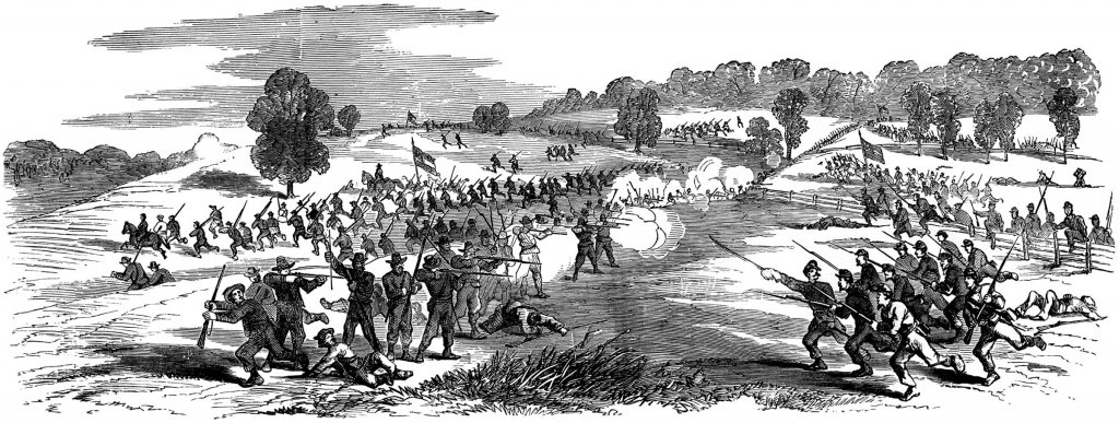 Civil war battle clipart.