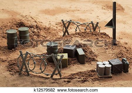 Stock Photo of battle ground k12579582.