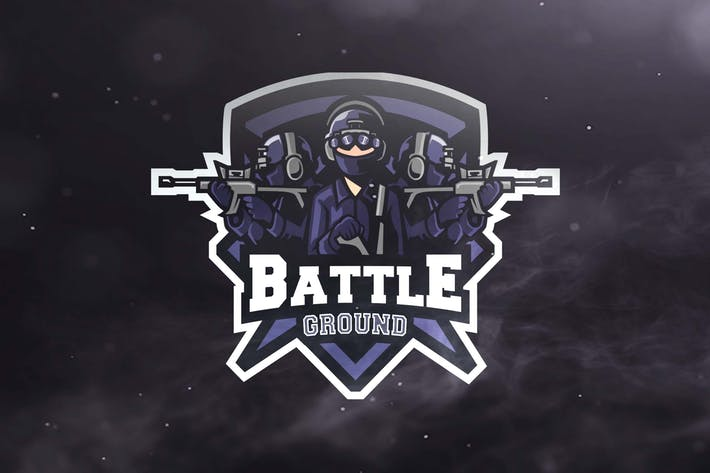 Battle Ground Sport and Esports Logos by ovozdigital on Envato Elements.