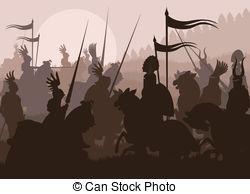 Battle of clipart #16