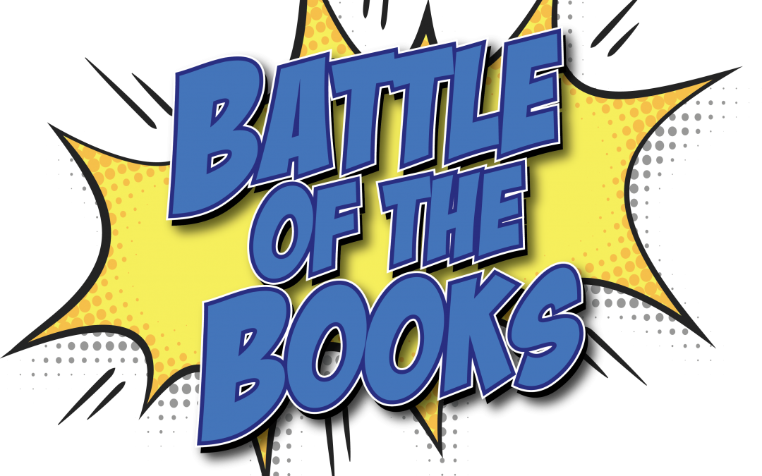 3rd Annual Battle Of The Books Clipart.