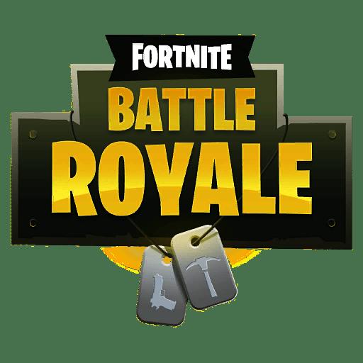 Fortnite Battle Royale Logo transparent PNG.