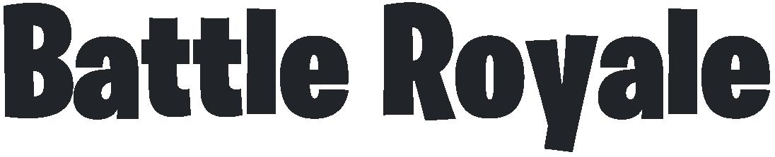 Battle Royale Fortnite Logo.