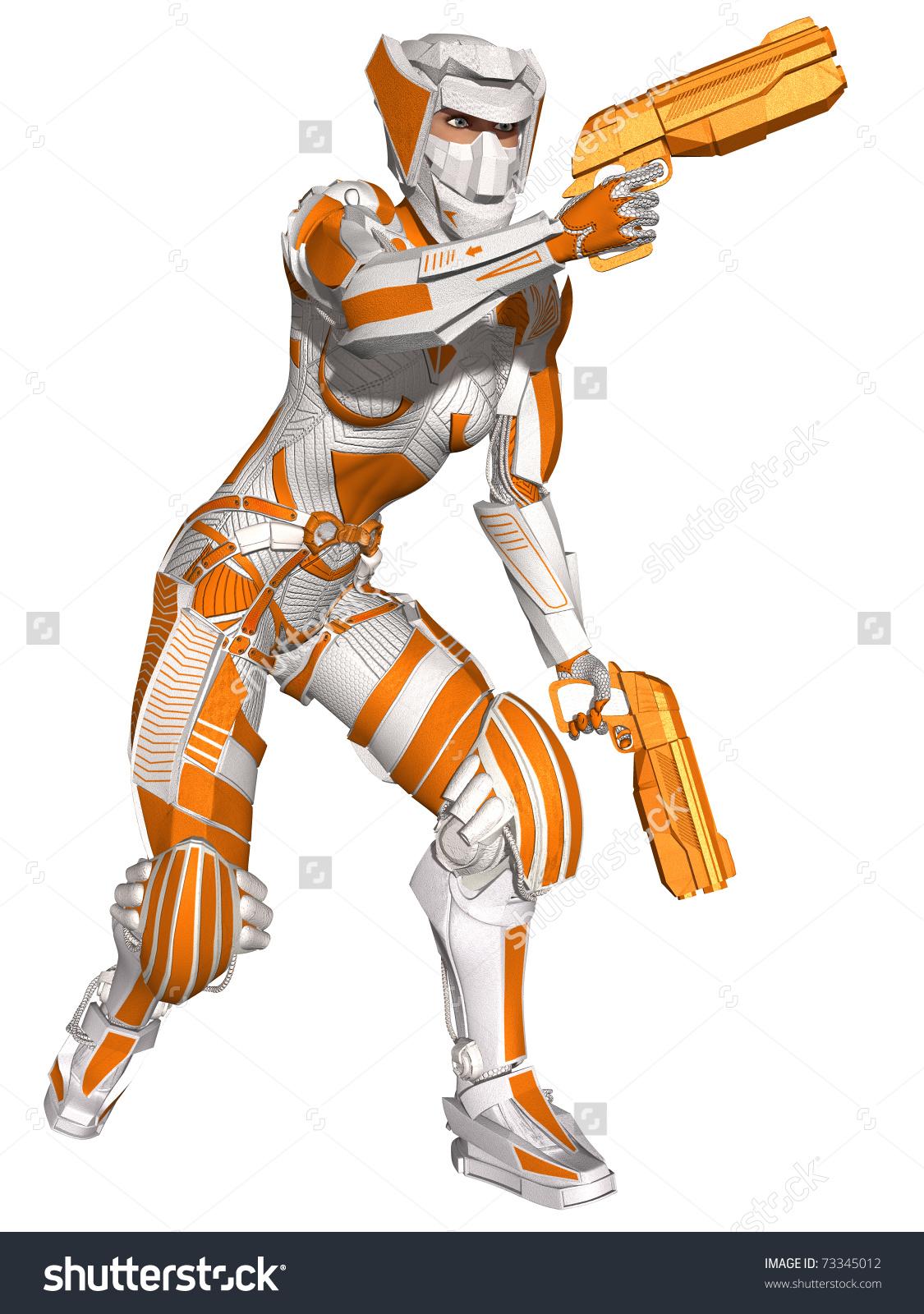 Futuristic Battle Suit Stock Photo 73345012 : Shutterstock.