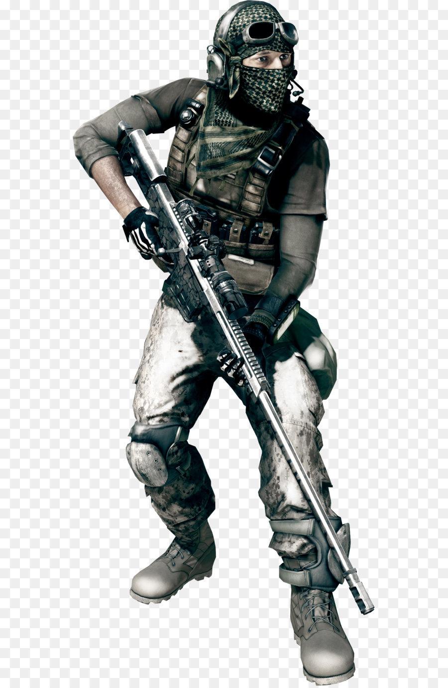 Battlefield 3 Soldier png download.