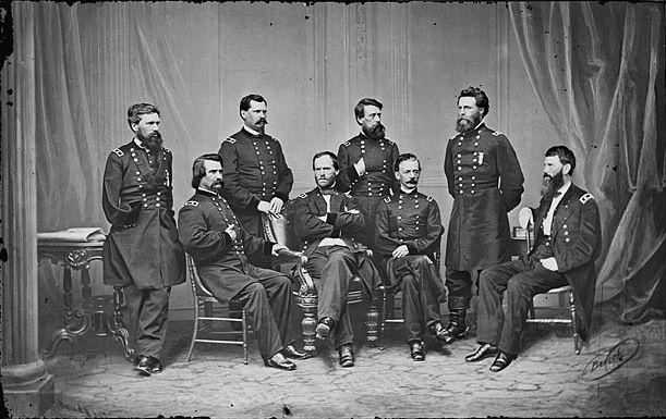 Famous Civil War People: A list of clip art with famous.