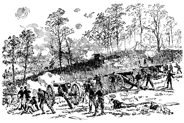 Battle of Shiloh Civil War.