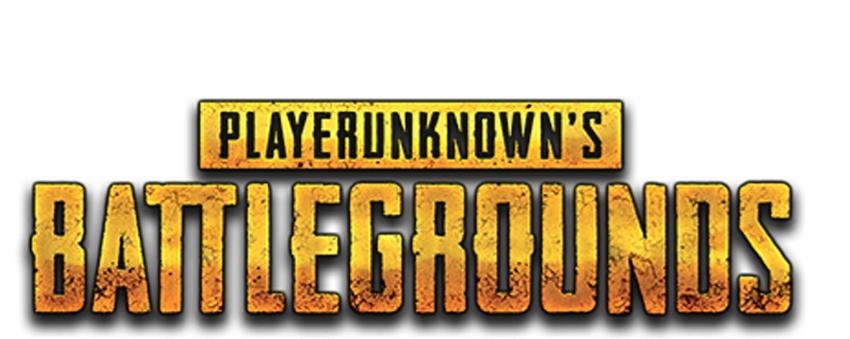 PLAYERUNKNOWN'S BATTLEGROUNDS: Pubg Battleground Text Png.