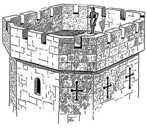 Castle Parts Clip Art Download.