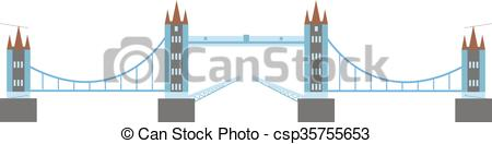 Clipart Vector of Knight medieval hill town from battlements stone.