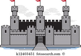 Battlements Clip Art EPS Images. 242 battlements clipart vector.