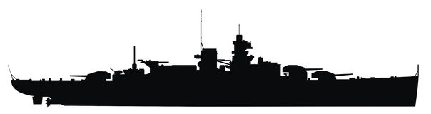 Warship clipart #5