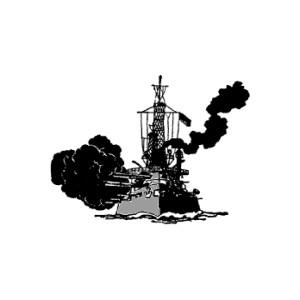 Navy battleship clipart.