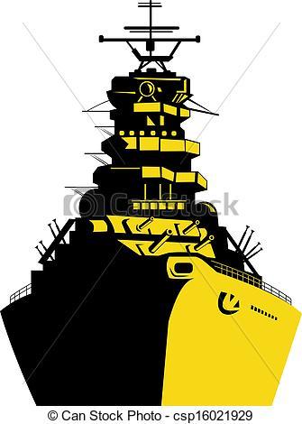 Battleship Drawings Clipart.