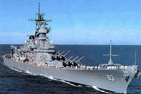 Free Military Battleship Clipart.