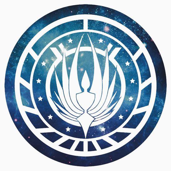 Battlestar Galactica Colonial Seal\' T.