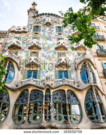 Barcelona Spain November 11 Casa Batllo Stock Photo 118707619.