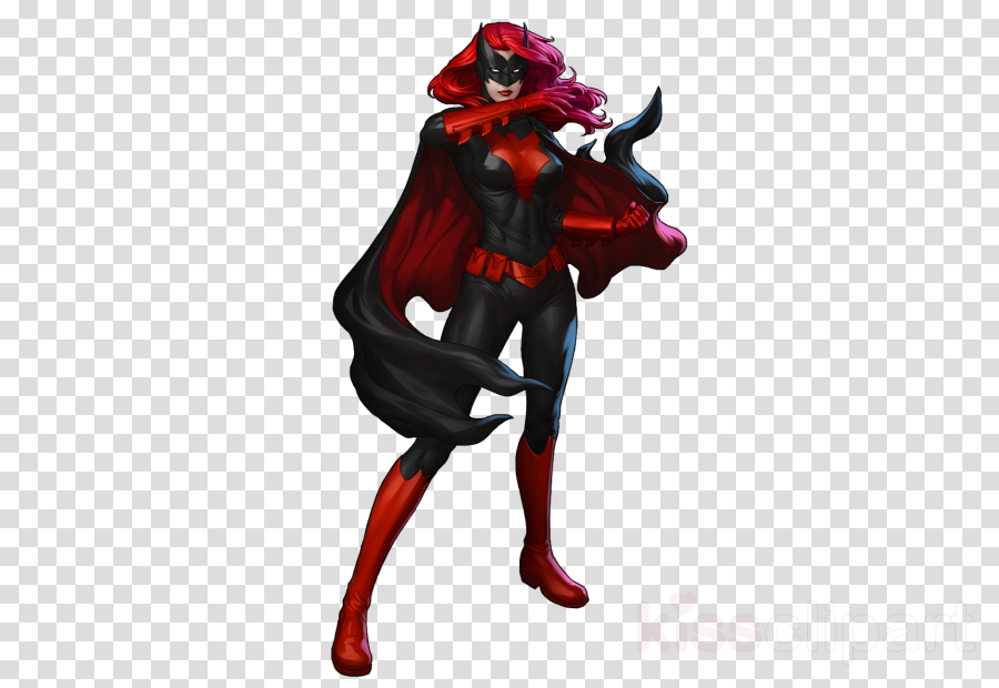 Batman, Red, Art, transparent png image & clipart free download.