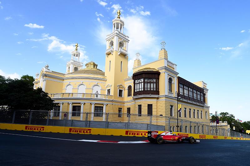2017 FORMULA 1 AZERBAIJAN GRAND PRIX.
