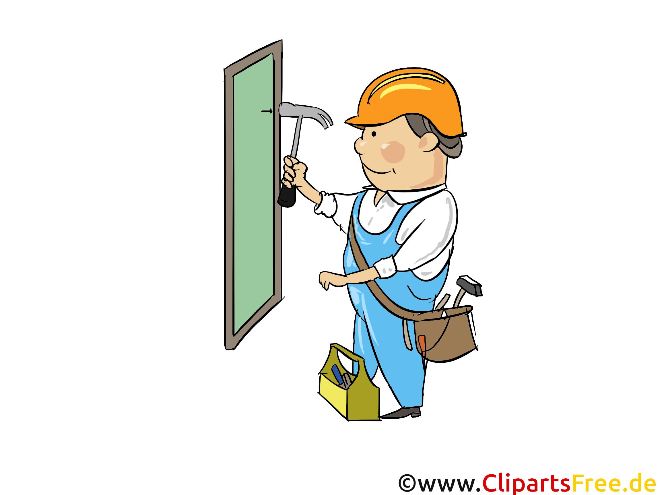 Clipart ouvrier.