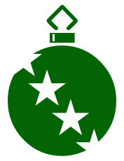 Free Christmas Ornaments Clipart.