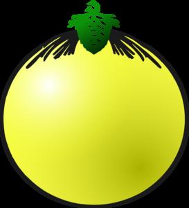 Yellow Bauble Clip Art at Clker.com.