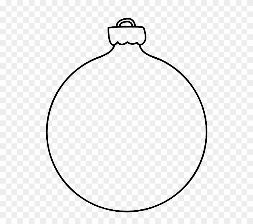 Christmas Bauble Template Printable Christmas Bauble.