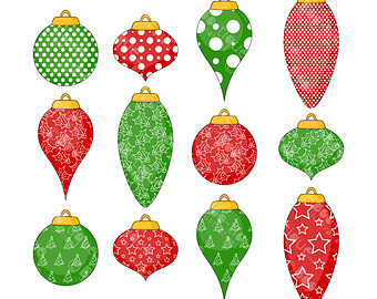 Christmas Baubles Clipart Christmas Tree Decorations Clip Art For.
