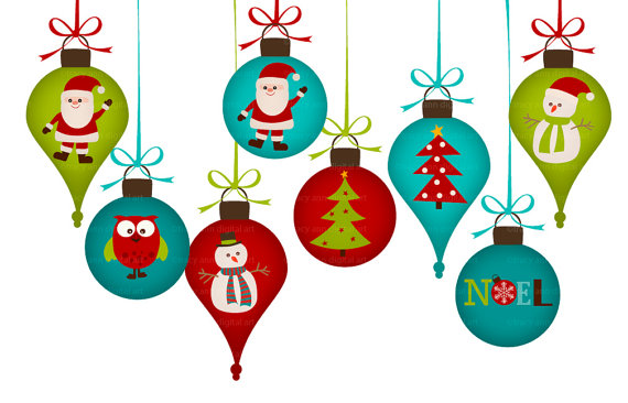 Christmas decor clipart #1