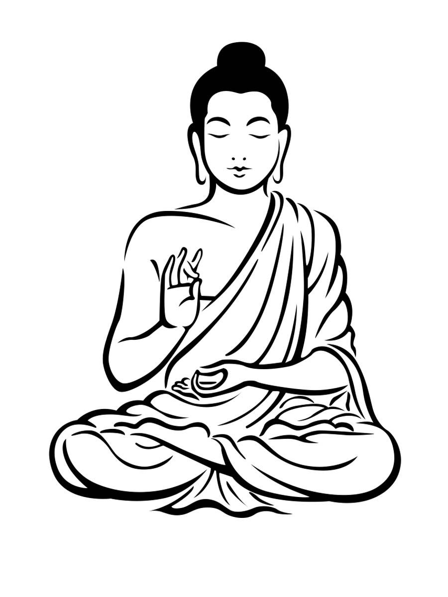 Lord buddha clipart.