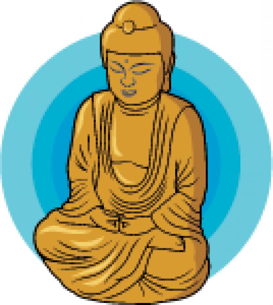 Buddha clip art.