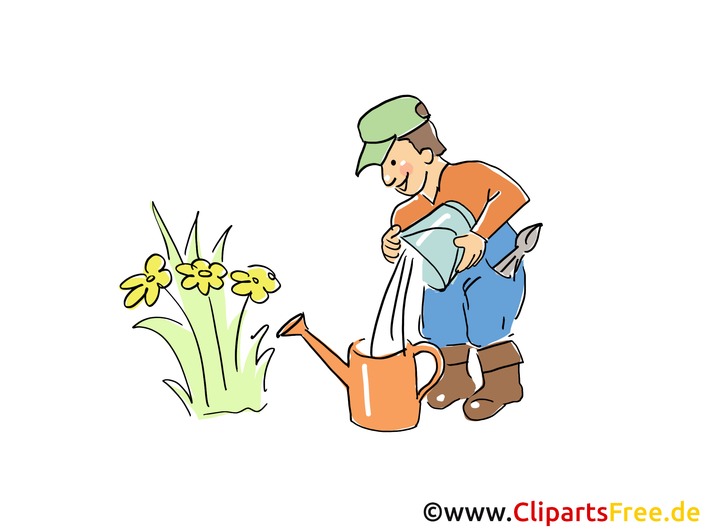 Bauer Clipart, Cartoon, Bild.