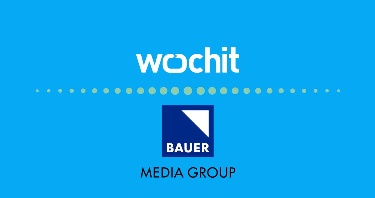 Bauer Media Group Extends Partnership with Wochit for Social Video.