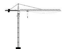 Crane Stock Illustrations.