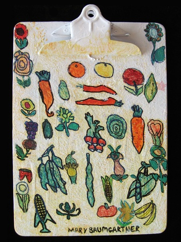 "Kitchen Garden"" By Goodwill Art Studio & Gallery artists, Mary."
