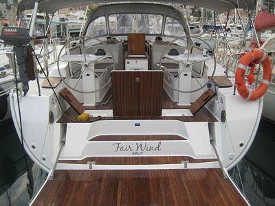 Bavaria 45 Cruiser Fair Wind.